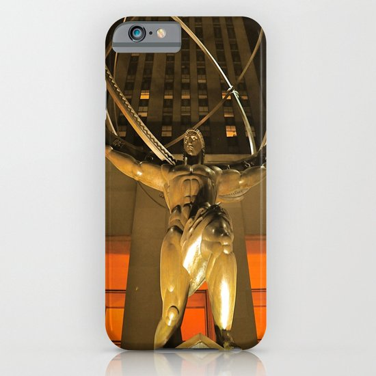 30Rock and Atlas iPhone & iPod Case