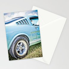 1966 Ford Mustang Fastback Car Stationery Cards
