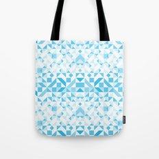 Geomtric Pastel Wave Tote Bag