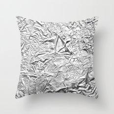 Aluminum Foil Throw Pillow