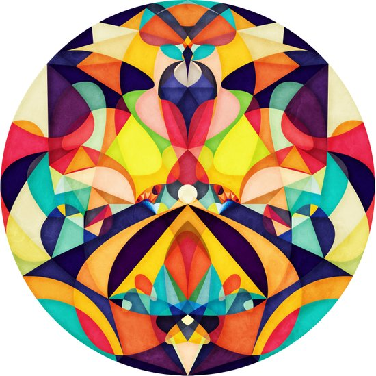 Poetry Geometry Canvas Print