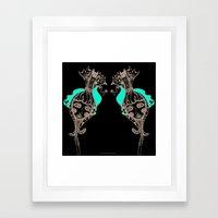 CrazyCatGirl Framed Art Print