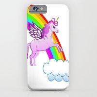 Unicorn And Rainbow iPhone 6 Slim Case