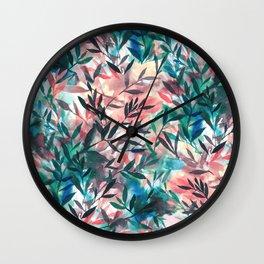 Wall Clock - Changes Coral - Jacqueline Maldonado