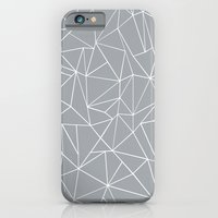 Abstraction Outline Grey iPhone 6 Slim Case