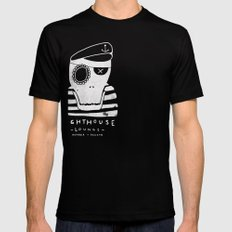 One-Eyed Willy Mens Fitted Tee Black SMALL