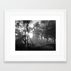 Morning Rays Framed Art Print