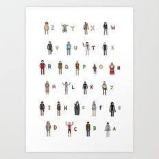 Z-A Art Print