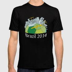 Brazilization Black SMALL Mens Fitted Tee