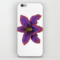Stylized Lily iPhone & iPod Skin
