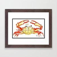 Crabby Framed Art Print
