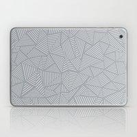 Ab Linea Grey Laptop & iPad Skin