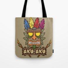 Aku-Aku (Crash Bandicoot… Tote Bag