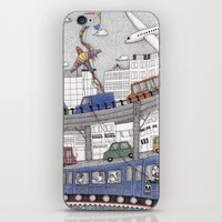 Taking the Red Line iPhone & iPod Skin