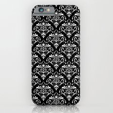 damask pattern back and white Slim Case iPhone 6s