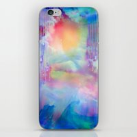 You Are entering a beautiful place called heaven  by Sherriofpalmsprings iPhone & iPod Skin