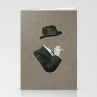 smoke Stationery Cards featuring Smoke by Lerson