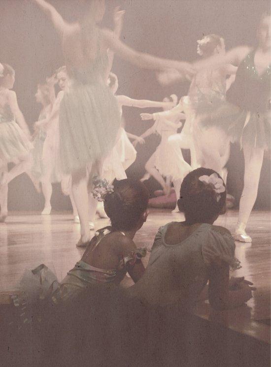 Ballerinas Art Print