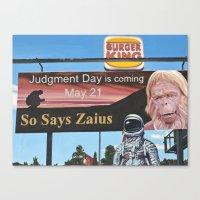 So Says Zaius Canvas Print