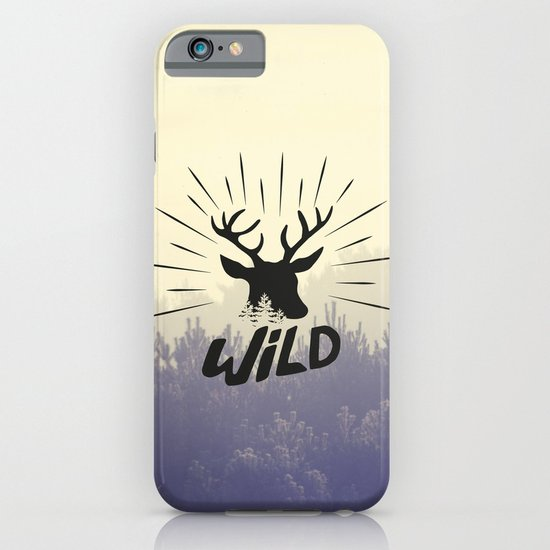 Wild deer iPhone & iPod Case