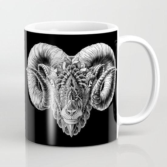 Ram Head Mug
