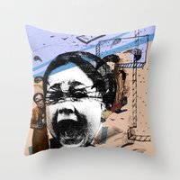 Alfred 1 Throw Pillow
