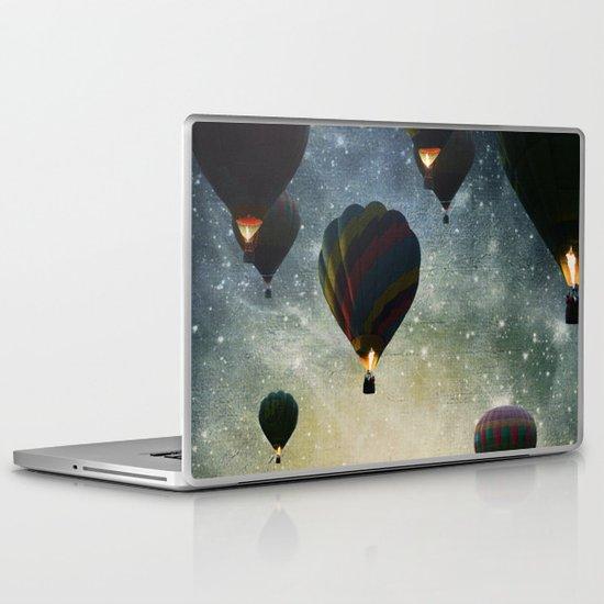 Lighting the night Laptop & iPad Skin