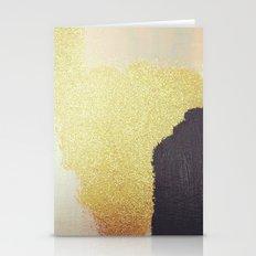 Gold White Black Stationery Cards