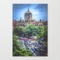 Chhatrapati Shivaji Terminus 2 Canvas Print