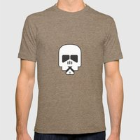Darth Fighters / Stormtrooper Mens Fitted Tee Tri-Coffee SMALL