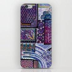 Purple Pandemonium iPhone & iPod Skin