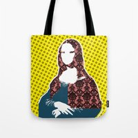 Mona Lisa SW+C X2 Tote Bag