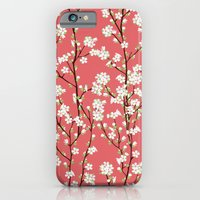 iPhone & iPod Case featuring Go Orient Cherry Blossoms by Manuela