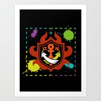 Splatoon - Game Of Zones Art Print