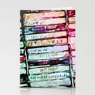 Abstract Cassettes Graph… Stationery Cards
