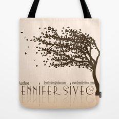 Jennifer Sivec-Author Logo by Brenda Gonet Tote Bag