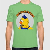 Don't Hug Me I'm Scared Mens Fitted Tee Grass SMALL