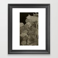 Cats & More Cats Framed Art Print