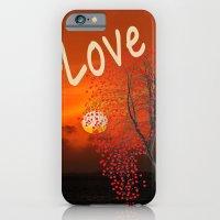 iPhone & iPod Case featuring Love Tree by LudaNayvelt
