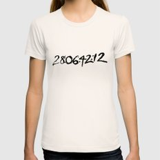 28 days 6 hours 42 minutes 12 seconds. Womens Fitted Tee Natural SMALL