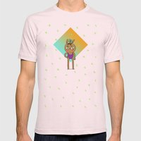 160615 Mens Fitted Tee Light Pink SMALL