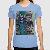 Bella Boat Womens Fitted Tee Athletic Blue SMALL
