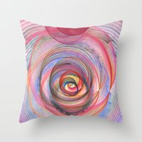 Calabash Nebula Throw Pillow
