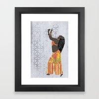 Belly Dancer 11 Framed Art Print