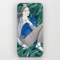 Blue Bunny iPhone & iPod Skin