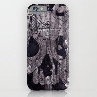 Metal Skull iPhone 6 Slim Case