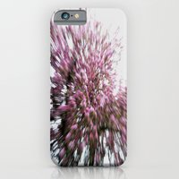 Abstract Pink Flowers 2 iPhone 6 Slim Case