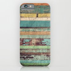 Wooden Vintage  iPhone 6 Slim Case