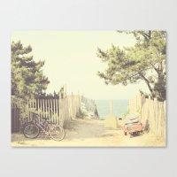 Vintage Summer Canvas Print