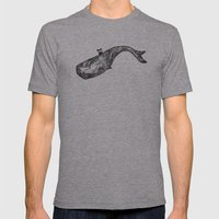Where the Oceans End Mens Fitted Tee Athletic Grey SMALL